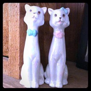 Vintage kittens Wedding Cake Toppers